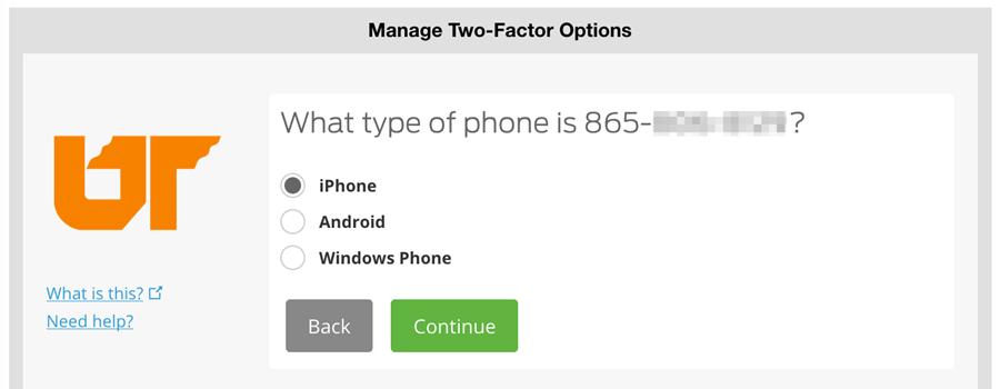 type of phone