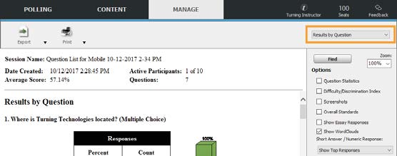 TurningPoint Dashboard Reports image