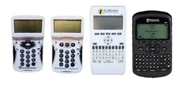 Images of clickers use at UTK